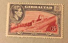 Gibraltar Sg 126a Perf 14 Mint Cat £120