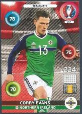 PANINI EURO 2016 ADRENALYN XL CARD- #217-NORTHERN IRELAND-CORRY EVANS