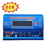 HTRC iMAX B6 AC 80W Digital LCD RC Lipo LiFe NiMh NiCD Battery Balance Charge.ch