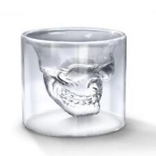 Set Of 4 Fred & Friends Doomed Crystal Skull Shotglass New Gift