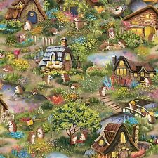 Hedgehog Village By the yard From Paintbrush Studio