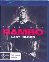 Rambo Last Blood Blu-Ray NEW Region B Sylvester Stallone