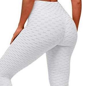 Women Anti-Cellulite Compression Push Up Yoga Pants Fitness Leggings Gym Tik Tok