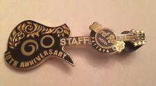 Hard Rock Cafe Pin Pattaya Hotel 10th Anniversary Staff