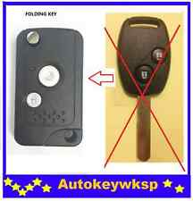 REMOTE 2 BUTTONS FLIP KEY SHELL CASE FOR HONDA  CIVIC ACCORD JAZZ CRV Odyssey