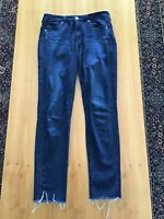 """AG ADRIANO GOLDSCHMIED """"THE STEVIE ANKLE SLIM STRAIGHT LEG"""" JEANS, SIZE 26R"""