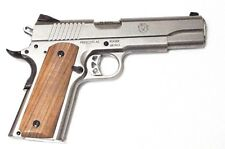 1911 Standard Full Size Grips In Natural Wood Walnut