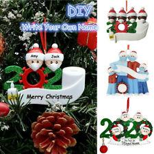 2020 Xmas Family Santa Christmas Tree Home Party Hanging Ornaments Decor Gifts