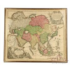 Antique Map of Asia by Johann Baptist Homann. Nurnberg, Germany, 1730