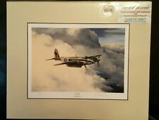 Limited Edition Aviation Mounted Print En-Route by Stephen Brown 5/25