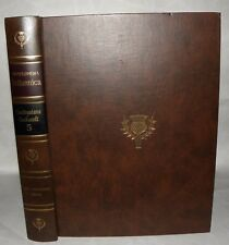 "** Encyclopedia Britannica ""200th Anniversary""  Vol 5 Only- 1971, Facsimile 1768"