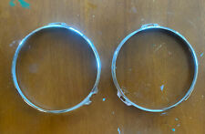 Nash Metropolitan Headlight Retainer Rings