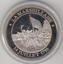Médaille contemporaine Révolution Française La Marseillaise 14 juillet 1795