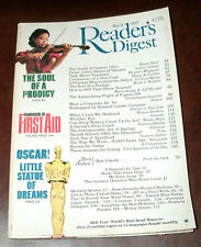 READER'S DIGEST 1987 MARCH CANTON;OSCAR;DON COYOTE;APARTHEID'DEFICIT;STRIPMINE