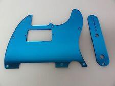 Tele Telecaster Blue Mirror Humbucking pickguard + control plate set Fender