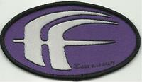 FEAR FACTORY oval logo 1998 - WOVEN SEW ON PATCH no longer made
