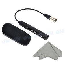 JJC PRO MICROPHONE FOR PANASONIC AG-MC200G HVX200 DVX100/A/B AG-DVC30  MIC-2
