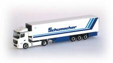 """Mb Antos m refrigerada """"schumacher"""" escala H0 1 87 Herpa 302395 modelo"""