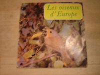 mini 33 tours les oiseaux d'europe