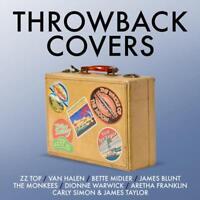 THROWBACK COVERS 4CD NEW ZZ Top Van Halen Bette Midler James Blunt The Monkees
