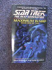 STAR TREK NEXT GENERATION PB MAXIMUM WARP BOOK 1 BY GALANTER & BRODEUR VF