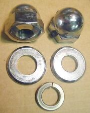Acorn Rear Axle Nut Kit Shovelhead , Sportster