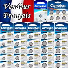 Pile bouton Lithium CR2430 CR2450 ( vendue à l'unité ou par Lot :  jusqu'à 100)