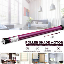 110V/240V Electric Roller Moter Shade Tubular Shutter Motor 10Nm Remote Control