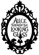 Alice in Wonderland 2 Typography quote Decorative Vinyl Wall Sticker