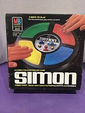 "Vintage Milton Bradley ""Simon"" Electronic Game 1978 W/Instructions Original"