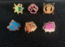 BlizzCon 2007 Blizzard Employee Exclusive World of Warcraft Buff Golden Pins Set