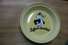 FIESTAWARE WARNER BROTHERS SYLVESTER ACT PIE DISH PLATE SERVER  NEW
