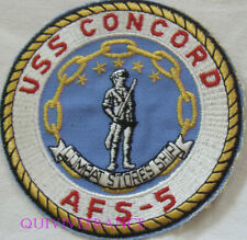 PUS487 - US NAVY USS CONCORD AFS-5 PATCH