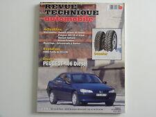 revue technique automobile RTA neuve Peugeot 406 diesel n° 589