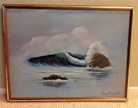 Jerry Conseen Original Oil on Canvas, Signed, Ocean Landscape