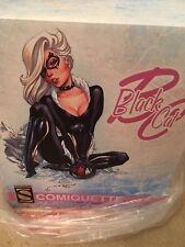 SIDESHOW BLACK CAT COMIQUETTE STATUE EXCLUSIVE J SCOTT CAMPBELL SPIDER-MAN