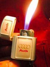 Brand New Audi Mini Pocket keyring cigarette lighter,free Fidget Spinner