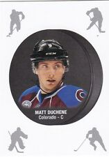 MATT DUCHENE 2016-17 16-17 OPC O-PEE-CHEE PUCK STICKER REDEMPTION #8 COLORADO !