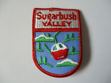vintage 1970's Sugarbush Valley Vermont Ski Skiing Resort Souvenir Patch
