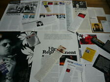 THE REPLACEMENTS/PAUL WESTERBERG - MAGAZINE CUTTINGS COLLECTION (REF AB)