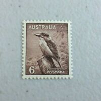APD565) Australia 1937 6d Kookaburra Perf. 13 1/2 x 14 MUH