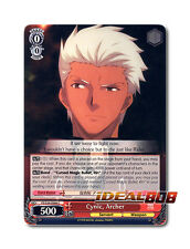 Weiss Schwarz  x 4 Cynic, Archer [FS/S34-E066 C] English Common