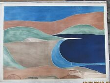 "John Patrick Garufi (American) Abstract Etching ""Lochinvar"" 27.5 by 37 inch"