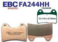 EBC balatas fa244hh eje delantero ducati 848 (radial 2 pad caliper) 08-10