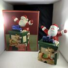 Lenox Rudolph The Red Nosed Reindeer Santa Covered Christmas Holiday Candy Dish
