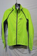 Louis Garneau Spire Convertible Jacket Men's Small Bright Yellow Retail $179.99