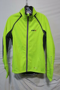 Louis Garneau Spire Convertible Jacket Men's Small Bright Yellow Retail $179.99