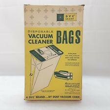 Vintage Electrolux Vacuum Cleaner Bags DVC Brand Original Box 12 pcs USA