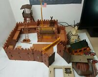 Playmobil 3806 - Fort Glory - Soldier US Cavalry Western - Incomplete