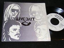 STRANGE Florida Punk/ Power Pop 7 inch LIVE BAIT w Picture Sleeve CRACKED